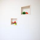 壁抜き飾り棚