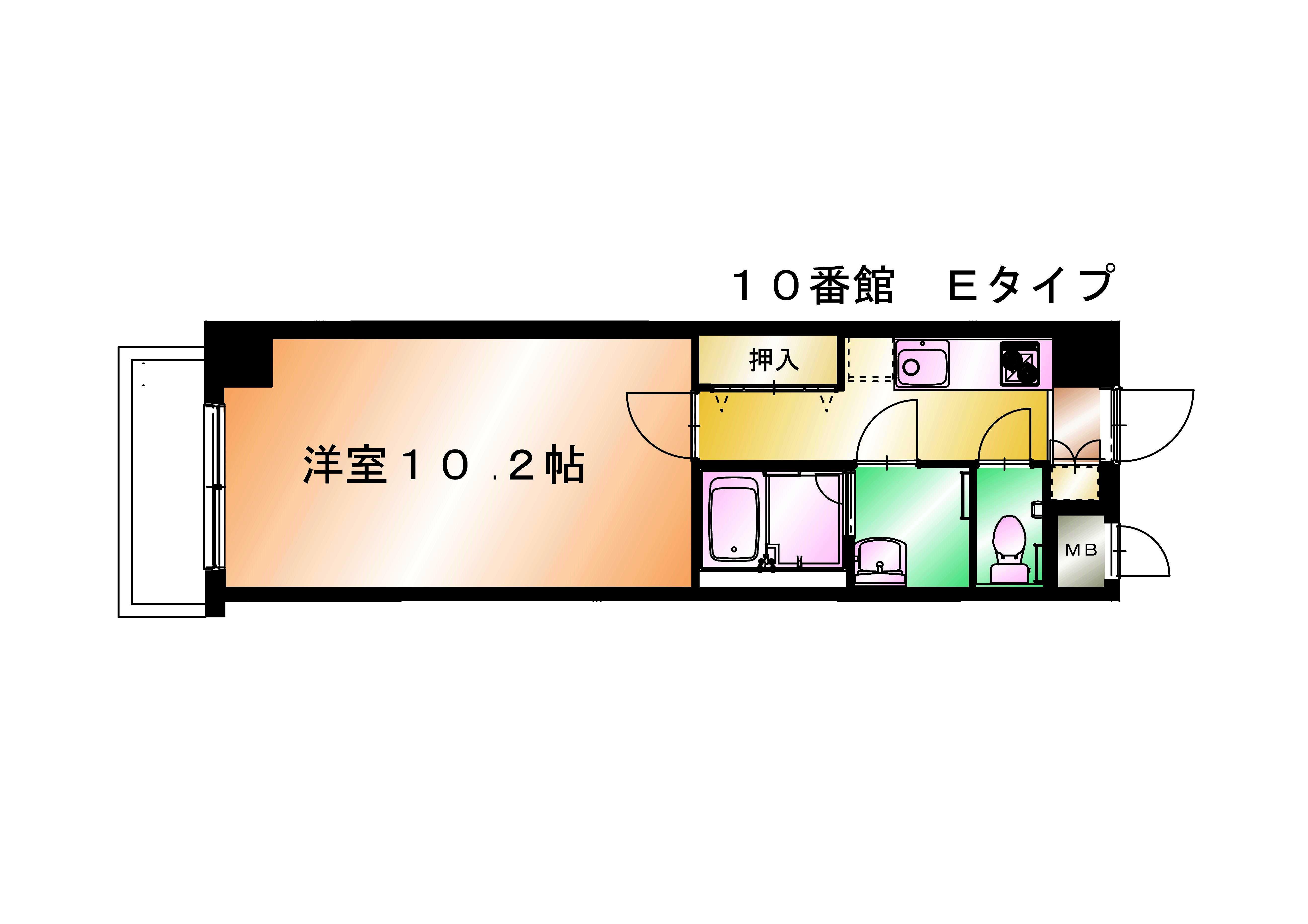 シャルレ10番館 Eタイプ
