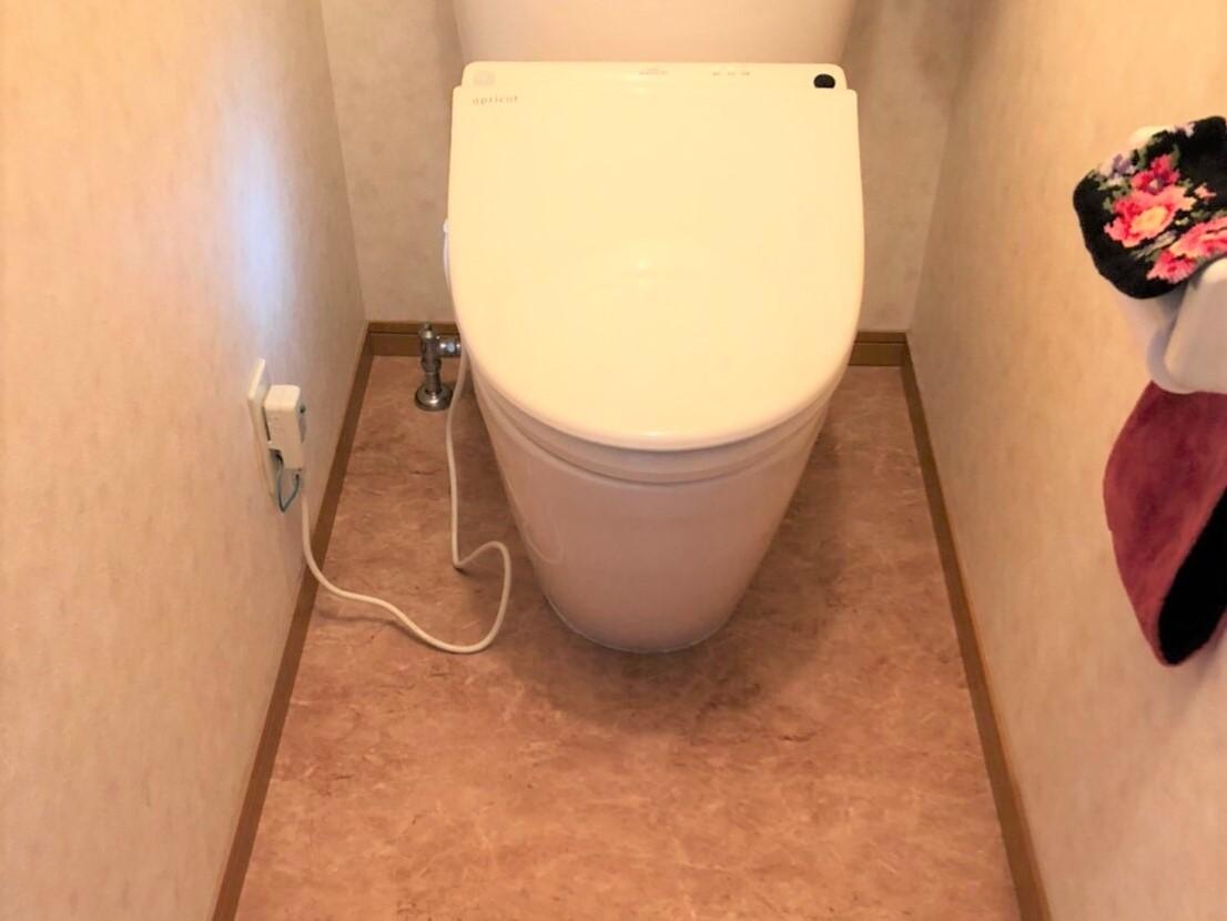 M様邸★トイレ床張り替え工事★