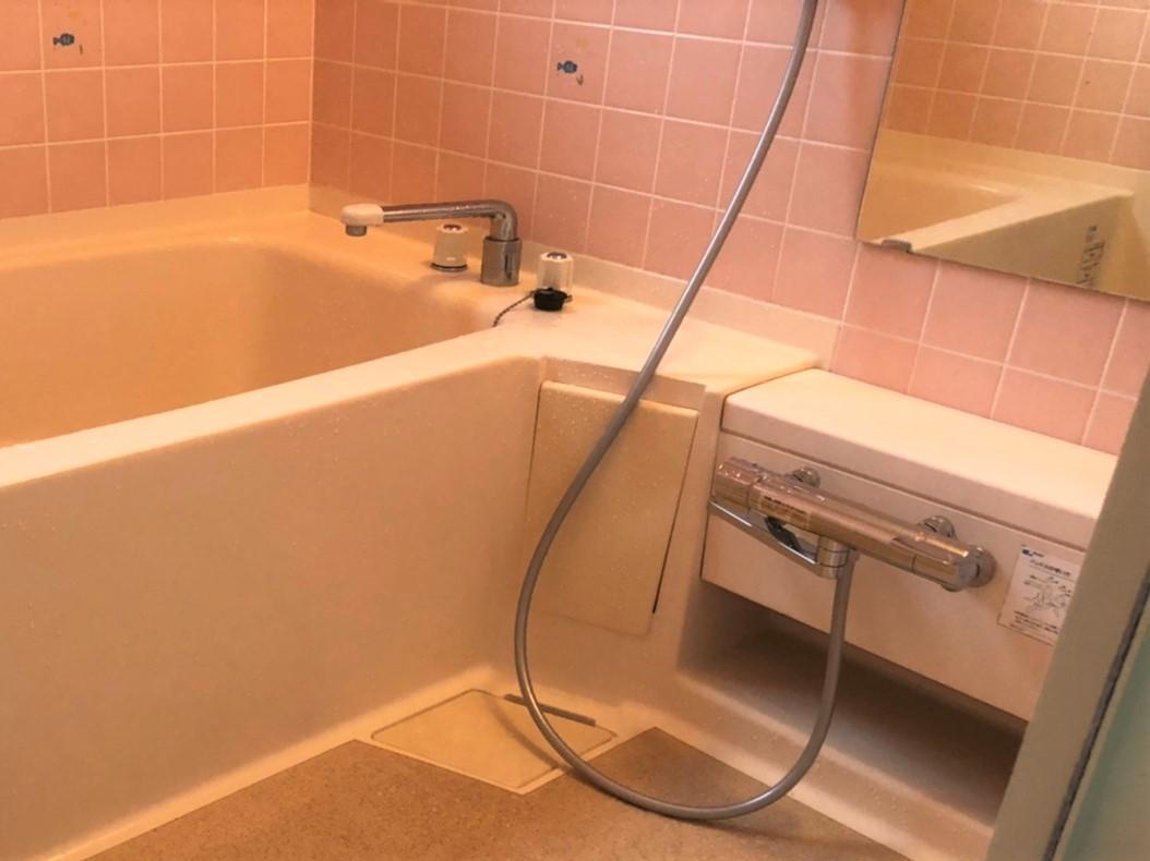S様邸 浴室水栓取り替え工事